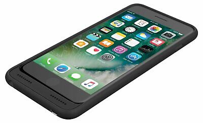 Incipio Ox iPhone 7/8 Plus Case with Integrated Lightning and 3.5mm Aux - Black