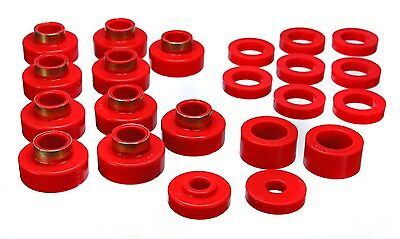 Energy Suspension 2 4102R Cj Body Mount Set