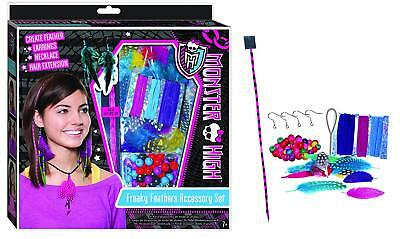 Monster High Freaky Feathers Accessory Kit for Jewelry & Hair Extensions](Monster High Hair Extensions)