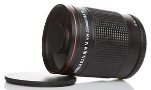 500mm Monster-Tele Objektiv für Panasonic Lumix DMC-GX80 GM1 GM5 G6 G5 G70 GX7 G