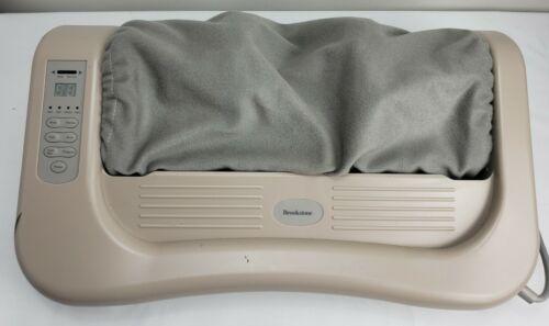 BROOKSTONE 257097 Deep Kneading Roller Shiatsu Foot Massager Programmable Multi - $69.99