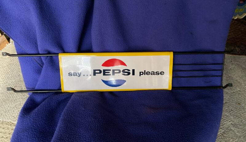Vintage 1967 Pepsi Cola Door Push