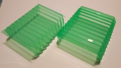 U-fold Replacement Tight Fit Clear Green Way Covers For Sherline Mill