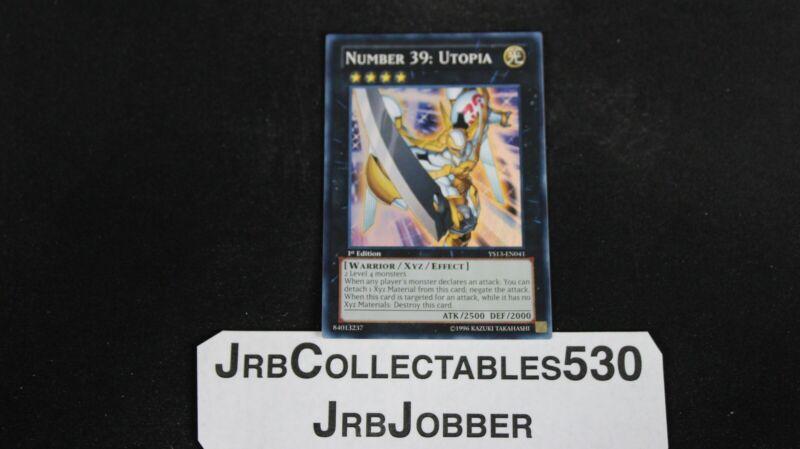 Utopia YS13-EN041 1st Ultra x1 YUGIOH Number 39