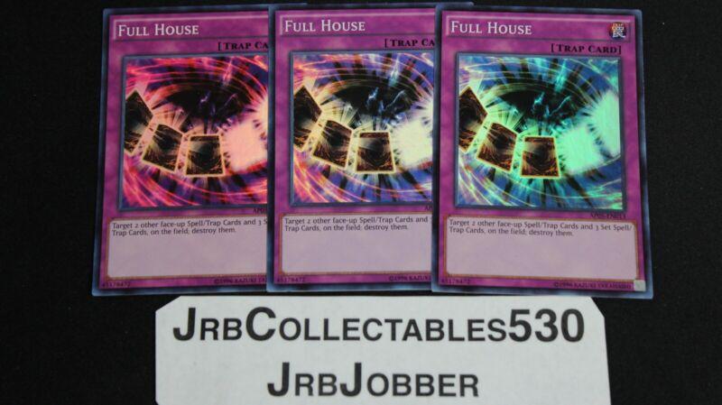Super Rare Full House Yugioh AP05-EN013