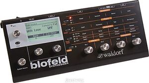 NEW  WALDORF LIMITED SHADOW EDITION BLACK BLOFELD SYNTHESIZER MODULE