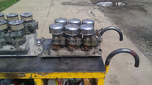 3 deuce setup for small block chevy for sale