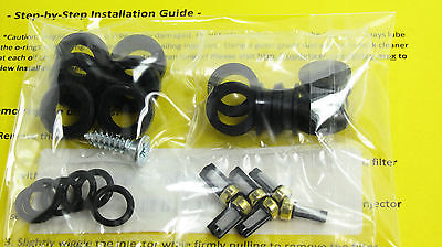1986-92 Toyota Supra Non-turbo 7mge Fuel Injector Filter Seal Oring Kit: 6cyl