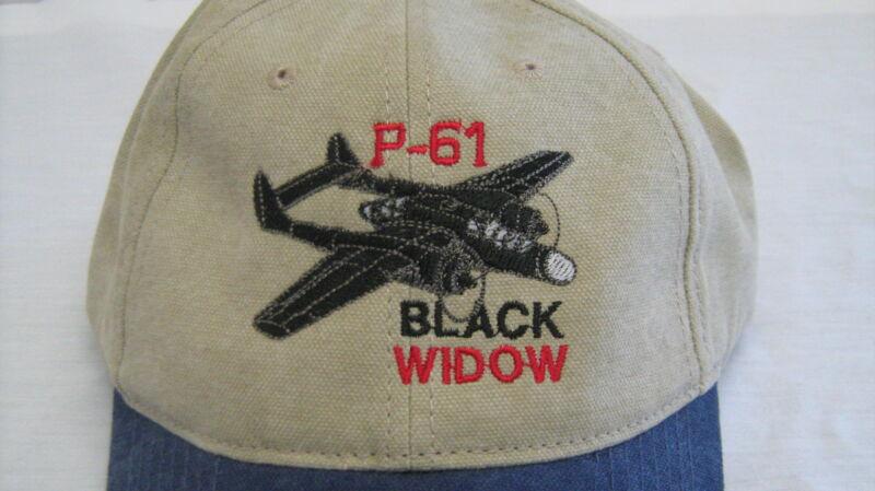 Northrop P-61 Black Widow Warbirds Airplane Embroidered Hat