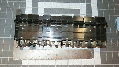Type Xo Breakers Cutler-hammer Square D 1 Or 2 Pole 15 To 50 Amp Wide Thin