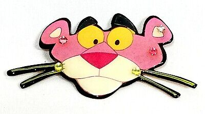 Vintage DftD Pink Panther Enamel on Copper Pin Designs From The Deep  - The Pink Panther Costume