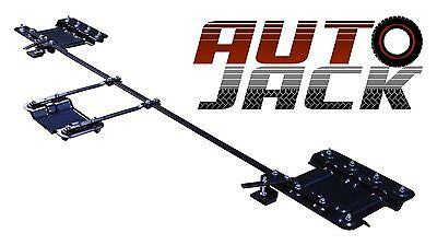 Universal Motorbike Dolly Stand Motorcycle Storage Garage Side Rear Type Mover