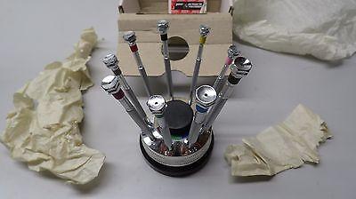 SPI 98-586-1 JEWEL SCREWDRIVER SET  ROTATING STAND Swiss precision Instruments
