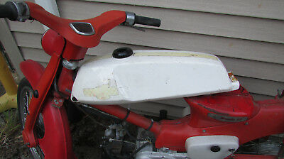 Honda C100 c102 c105 cm91 Super Cub 'Rally' gas tank - very rare & hard to find for sale  Renton