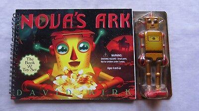 Old Book Novas Ark By David Kirk 2000 Toy Figure Unopened Vgc