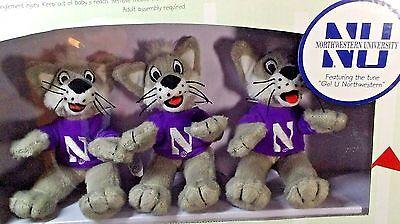 - Northwestern University Wildcats Musical Mobile Licensed NCAA New Football