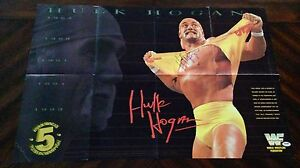 Hulk-Hogan-THE-LEGEND-WWE-WWF-Signed-Auto-22x33-Poster-PSA-DNA-COA