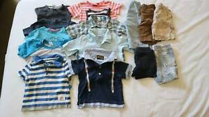 Bundle of boy summer clothes Size 1 (Over 10 items)