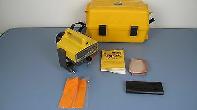 Topcon DM-S3 Electronic Distance Meter EDM With Carrying Case