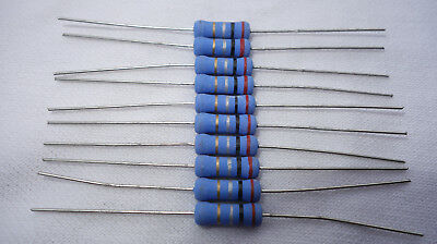 Sei 2w 2 Watts Metal Oxide Resistor 0.2 Ohm 0r2 5 Lot Of 10 Pieces