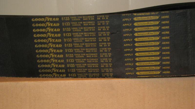 "4/B133 Goodyear Torque Team Classical   4 Rib, 133""  Length"