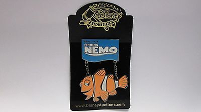 Disney Auctions 2003 Finding Nemo Jumbo Pin / Marlin Dangle LE of 100