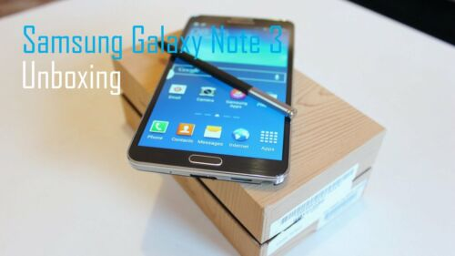 """Android Phone - New *UNOPENDED* Samsung Galaxy Note 3 N9005 16/32GB 5.7"""" Unlocked Smartphone"""