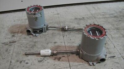 Thermal Instrument Co. Mass Flow Meter Model 9500 Lot Of Two