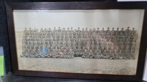 WWI US Army 3/21/18 Company F 313 Engineers Photo