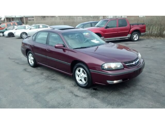 low reserve beautiful impala ls fully loaded clean and runs excellent used chevrolet impala