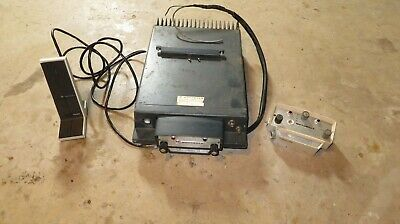Vintage Motorola 2-way Mocom 70 Mobile Radio Desk Station Wmic