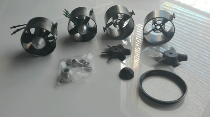 2 x Rc Jet Plane 70mm EDF Fan Motor sets and spares