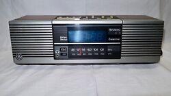 Vintage GE General Electric AM/FM Stereo Blue Digital Dual Clock Radio 7-4945A