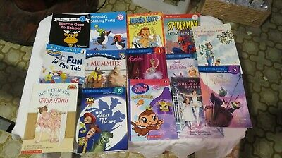 """Lot of 14 """"I Can Read, Ready To Read"""" etc..Level 1,2 & 3 books"""