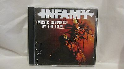 Infamy Music Inspired By The Film 2006 Paladin Entertainment              Cd1594
