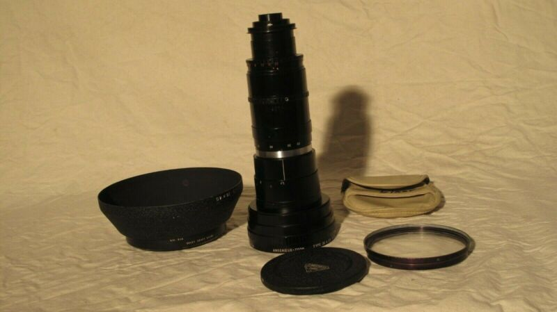 Angenieux 25-250mm T3.9 (Type 10x25T2) Zoom Lens Package 25-250 screw mount