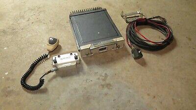 Vintage Motorola 2-way Motrac Mobile Radio Wctrl Head Mic Cable