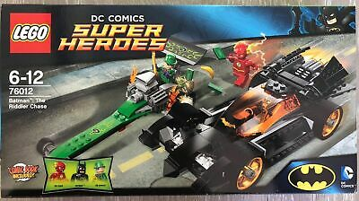 Lego Super Heroes 76012 Batman: The Riddler Chase 100% Complete - NO minifigs