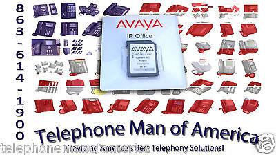 Avaya Ip Office 500v2 700479710 Sd Card W Essential Edition 267786 275631 339096