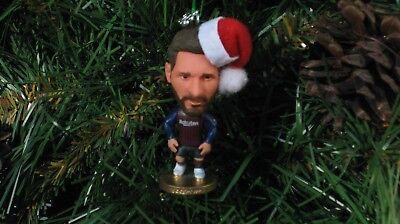 Leo Messi #10 Custom Christmas Ornament Barcelona 2018-19 Kit w/ 2018 year (Ornament Year Charm)