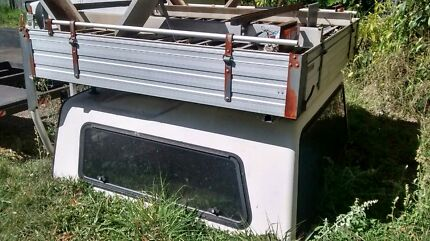 Challenge Dual cab ute alloy tough tray with canopy Slacks Creek Logan Area Preview