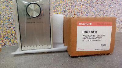 Honeywell Wall Mounted Humidistat H46c 1000 20-80 Pct Rh Range Free Shipping