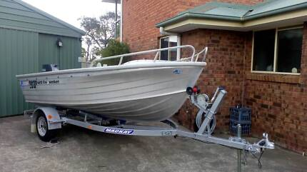 Quintrex 14ft dinghy & 40hp Yamaha