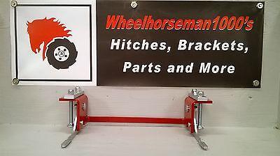 Tiller Wheel (Toro Wheel Horse hitch  #104659  SNOW DOZER BLADE TILLER  BRACKET!    )
