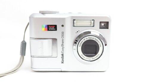 KODAK EasyShare C533~  5.0MP 3x Zoom ~ Digital Camera ~ Silver ~