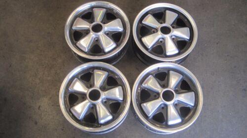 "PORSCHE  FUCHS Wheels 911/912/914-6 Original Wheels 1970 14"" x 5 1/2"" GERMAN"