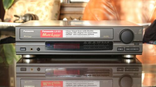 Panasonic LX-101 Multilaser disc player - great working and cosmetic condition