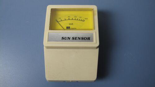 Hobbard Sun Sensor Light Source Intensity Meter