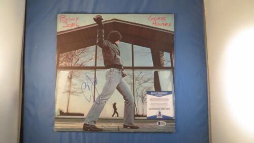 Billy Joel Signed Glass Houses Vinyl Record Album Beckett BAS COA Autograph