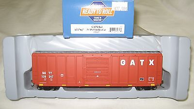Athearn Ho 50 Ps 5344 Box Car Gatx Rail Bkty 150247 Item  79617